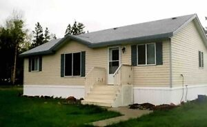1/2 Acre Deluxe Modular in Hudsons' Hope BC