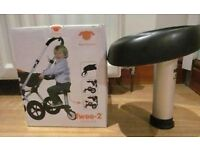 Twoo seat for Bugaboo Buggy wheeled board with original box