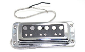 Surface mount DeArmond / DynaSonic replacement Alnico Single Coil pickups - SET
