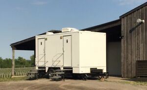 VIP Washrooms trailers for outdoor events