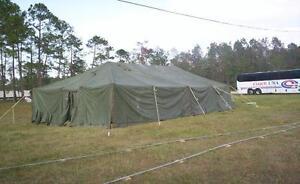 General Purpose U.S. Military Issue Medium Tent-16'x32'