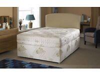DOUBLE DIVAN SUPER ORTHOPEDIC BED !! BED BASE + SUPER ORTHOPEDIC MATTRESS