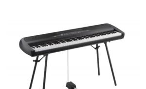 Korg SP280BK 88 Key Digital Piano with Speakers/Stand