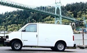 2001 GMC Safari Minivan, Van