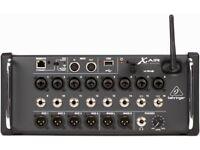 Behringer X air 16 digital mixer - x32 sound desk, for iPad / tablet