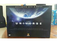"""The Universe"" Dvd and Book"