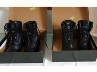 Black Patrol Boots