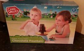 Children's brand new chocolate fountain
