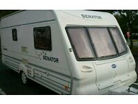2002 Bailey vermont caravan 2 berth light weight comes with a awning vgc bargian
