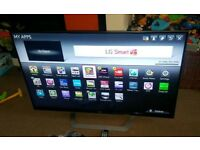 LG 55 inch supper slim line 3D smart led with remote control