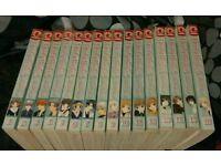Fruits Basket manga 1-16 RARE original