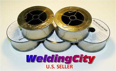 Weldingcity 5-pk Er70s-6 Mild Steel Mig Welding Wire .030 2-lb Roll 5 Spools