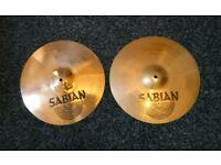 Sabian AA hi hat cymbals