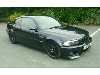 e46 M3 fast road, track car, fsh 380bhp plus