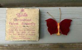 Coronation Velvet butterfly