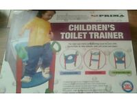New in box Children's toilet trainer