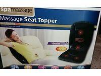 Spamassage seat top massage