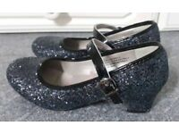 Girls lilley sparkle shoes size 13