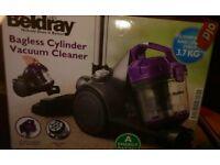 Beldray bagless cylinder vacuum cleaner