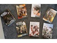Attack on titan books x7