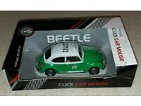 BEETLE TAXI GREEN Wired Computer mouse
