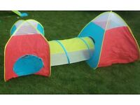 Childrens garden play tent