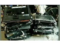 Lot of LCD and boty parts for laptops