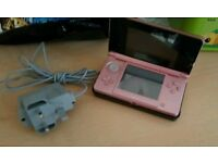 3ds coral pink (no box or game)