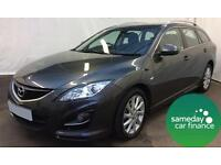 ONLY £165.72 PER MONTH GREY 2011 MAZDA 6 2.2 D TS2 ESTATE DIESEL MANUAL