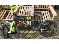 BMX plus spare wheels and inner tubes