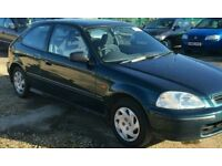 HONDA CIVIC 1.5 AUTOMATIC MOT JULY AND FULL SERVICE HISTORY