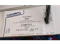 2x standing Moderat tickets Brixton collect from me at venue