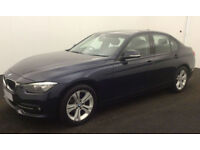 Imperial Blue BMW 318 2.0TD 2015 d Sport FROM £41 PER WEEK!