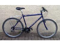 "Bike/Bicycle. GENTS APOLLO "" BLUE "" MOUNTAIN BIKE"