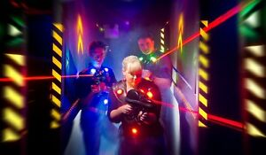 Laser Quest tickets for 4