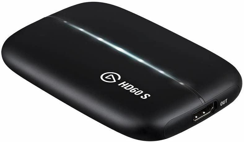 Elgato HD60 S Capture Card 1080p 60 Capture, Zero-Lag Passthrough, Ultra-Low Lat