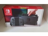 Nintendo Switch Brand New Sealed Grey