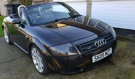 Audi TT Quattro Roadster Convertible Only 69000 miles Full Service History