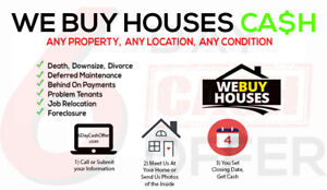 **I BUY HOUSES** Estate  Sale? Divorce? Damaged    Property?
