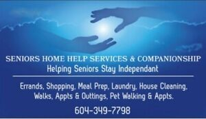 *** Helping Seniors Stay Independant ***