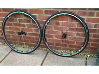 Shimano WH-R501 700c Wheels + Tyres & tubes