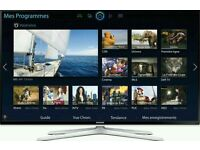"""Samsung 40"""" LED smart 3D tv wifi built USB MEDIA PLAYER HD FREEVIEW and freesat full hd"""