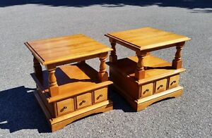 Huppe End Tables