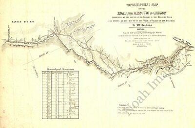 Map of Neenah Wisconsin c1879 24x20