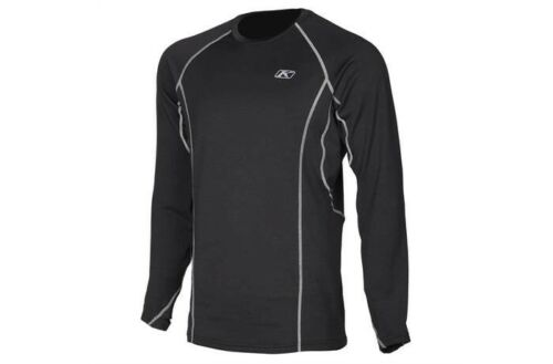 Klim Solstice 1.0 Base Layer Shirt Black Womens XLarge