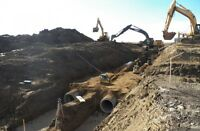 Fully Equipped Land Servicing and Gravel Pit Operator