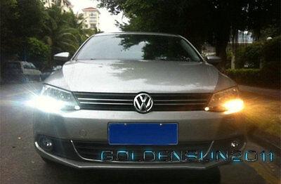 2pcs LED DRL Driving Daytime Running Day Fog Lamp Light For VW Sagitar Jetta MK6