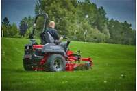 Mowing lawn care landscaping services by BROCAM Properties Ltd.