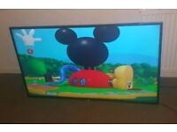 Blaupunkt 55 inch supper slim line HD tv excellent condition fully working