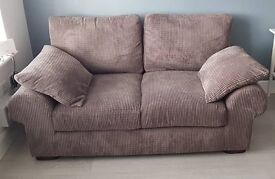 Scs 4 seater and 2 seater sofas